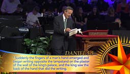 Daniel: Courageous Living in a Pagan World: A Night to Remember