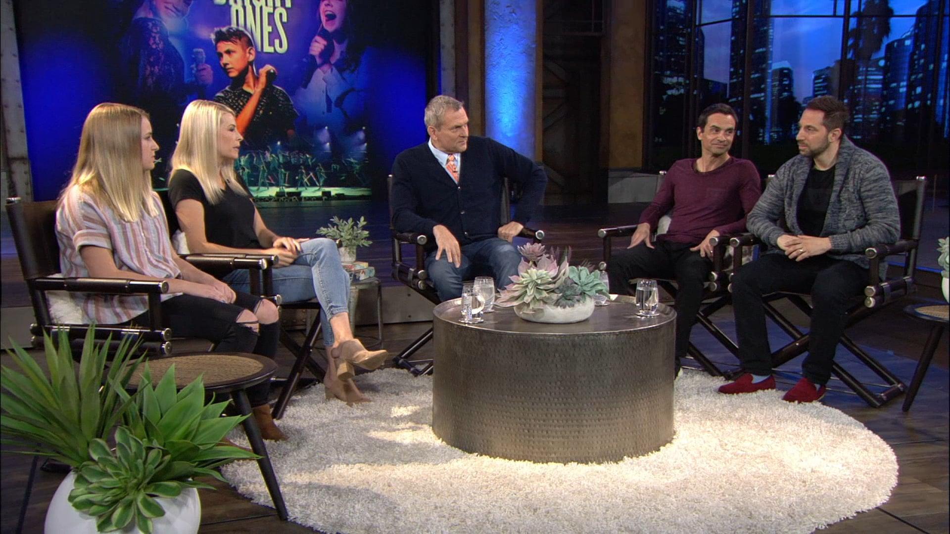 Tom Newman hosts David Narona, Fred Vassallo, Tea and Jenn Johnson.