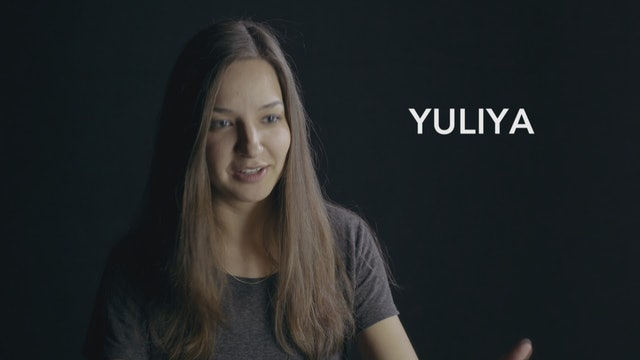 Yuliya and a Shoebox Packed with Prayer