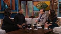 Video Image Thumbnail: Guests Toure and Sarah Jakes Roberts | From Brokenness to Breakthrough