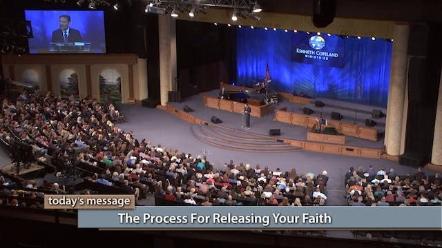 The Process For Releasing Your Faith
