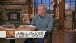 Video Image Thumbnail:Lessons from David | Friday
