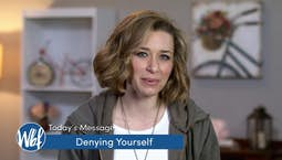 Video Image Thumbnail:Denying Yourself
