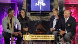 Guests Tim and Brelyn Bowman Jr.