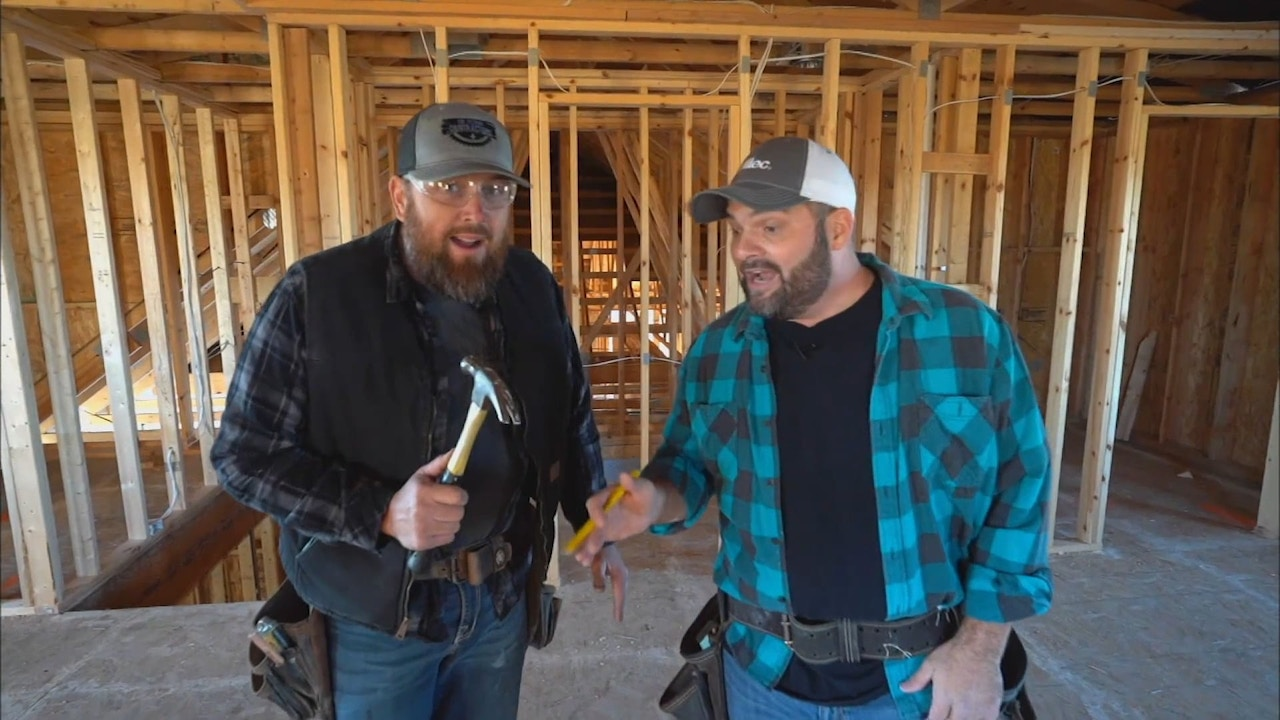 Watch Singing Contractors: Working on a Building