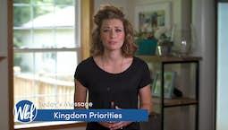 Video Image Thumbnail: Kingdom Priorities