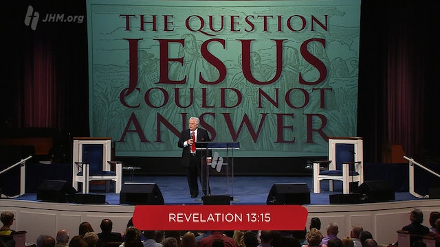 The Question Jesus Could Not Answer
