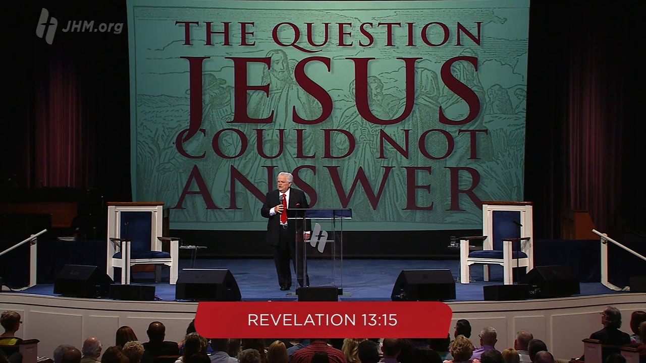 Watch The Question Jesus Could Not Answer