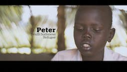 Video Image Thumbnail:Peter's Story: A South Sudanese Refugee