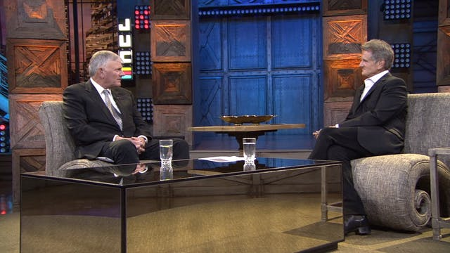 Matt Crouch hosts Franklin Graham fro...