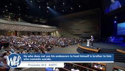 Video Image Thumbnail:Road Blocks To Healings