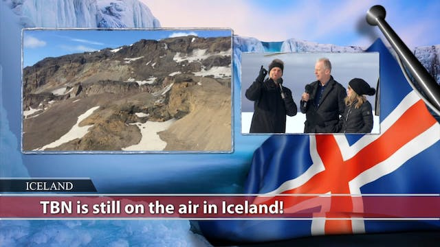 Matt & Laurie Crouch host from Iceland