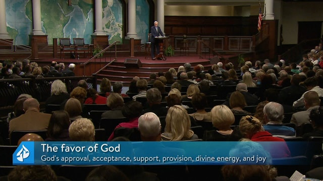Walking in the Favor of God Part 1 & Our Great Encourager