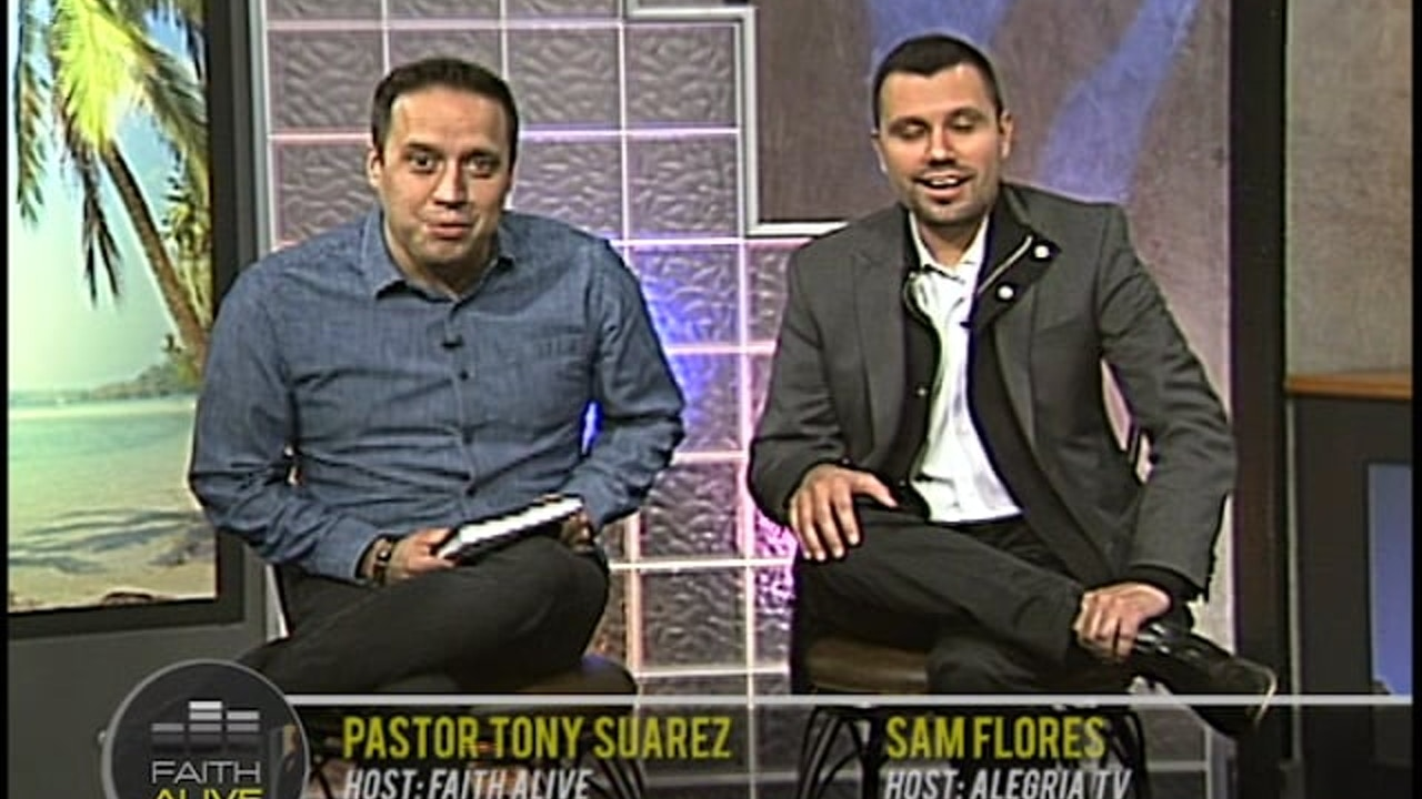 Watch Faith Alive with Tony Suarez