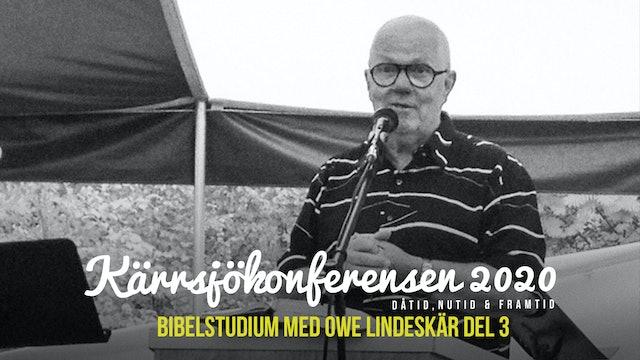 Lördag 15.00 - Bibelstudie | Kärrsjökonferensen 2020