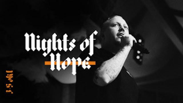SEBASTIAN STAKSET |  NIGTHS OF HOPE | LIVETS ORD