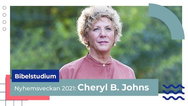 Bibelstudium måndag Cheryl Jones | Nyhemsveckan 2021