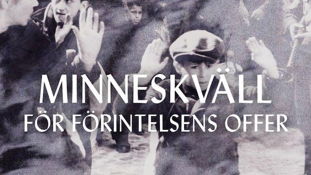 Minneskväll för förintelsen | LIVETS ...