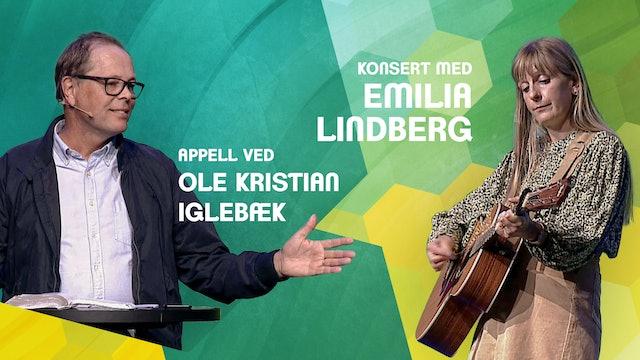 KONSERT - Emilia Lindberg og apell med Ole Kristian Iglebæk