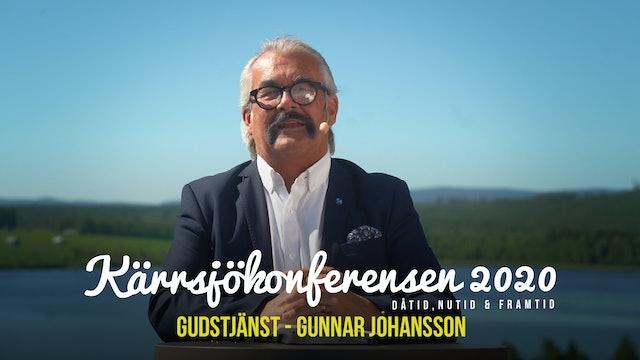 Söndag 11.00 - Gudstjänst Gunnar Johansson | Kärrsjökonferensen 2020