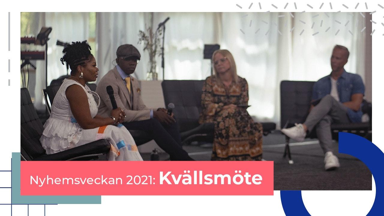 Kvällsmöten Nyhemsveckan 2021