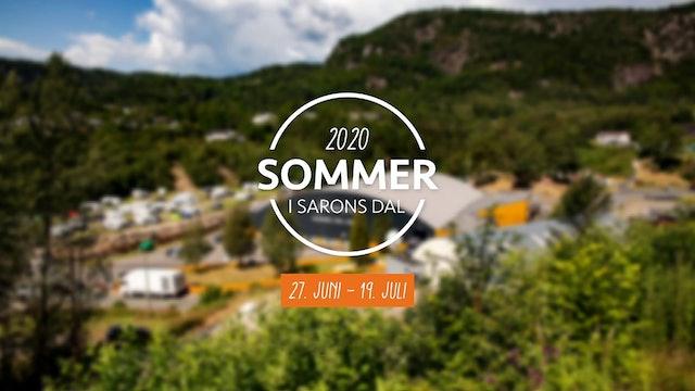 Rune Edvardsen - Du trenger ikke engang armer og ben / Sommer i Sarons Dal 2020
