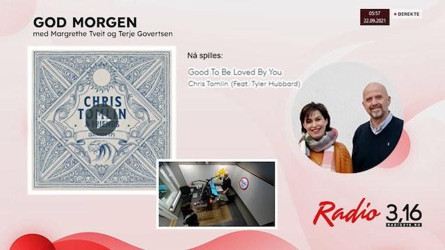 Radio 3,16 | 22 september 2021 - God Morgen med Margrethe og Terje