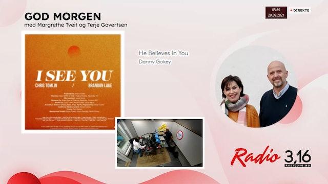 Radio 3,16 | 29 september 2021 - God Morgen med Margrethe og Terje