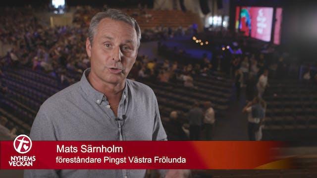 Pernilla Öhman 17 juni Predikan | Nyh...