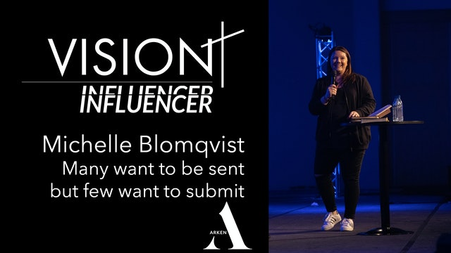 Many want to be sent but few want to submit | Michelle Blomkvist VISION 19