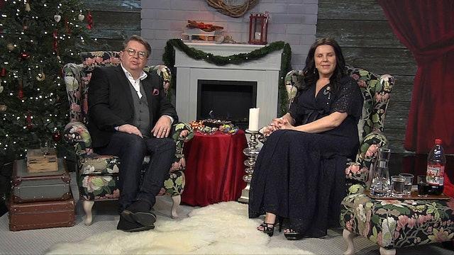 Inför Julnattsgudstjänst på Bjärka Säby