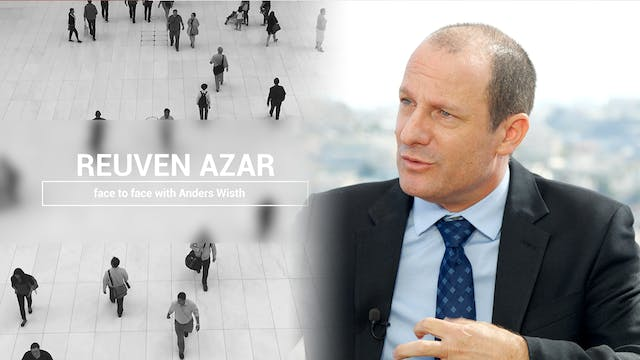 Reuven Azar face to face with Anders ...