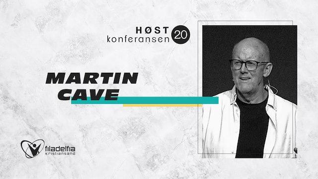 Martin Cave - Høstkonferansen - Lør 1100