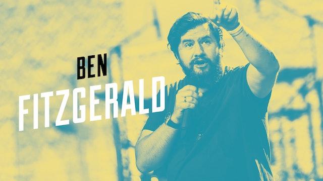 Ben Fitzgerald - 25 juli |Europakonferensen 2019