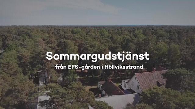 Sommargudstänst från EFS - 26 juli