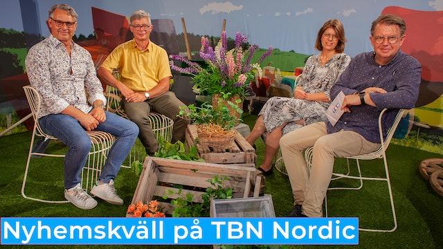 Nyhemskväll måndag på TBN Nordic