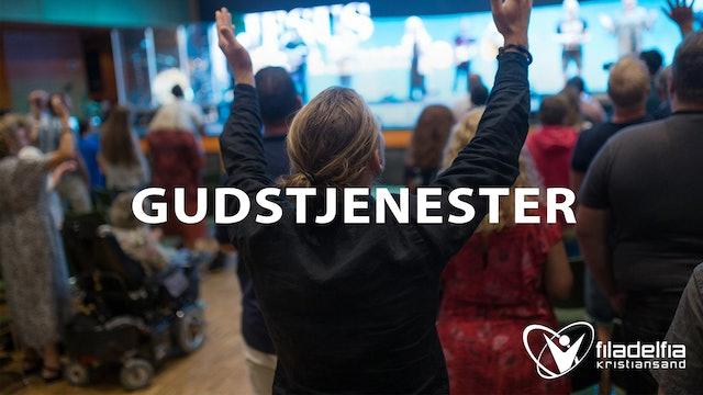Taler fra gudstjenester i Filadelfia Kristiansand