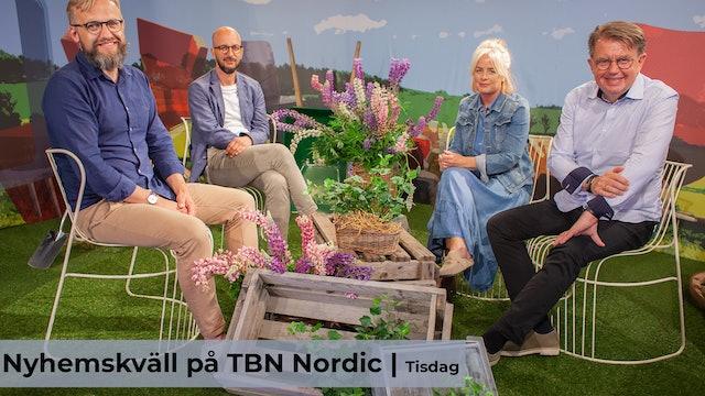Nyhemskväll tisdag på TBN Nordic
