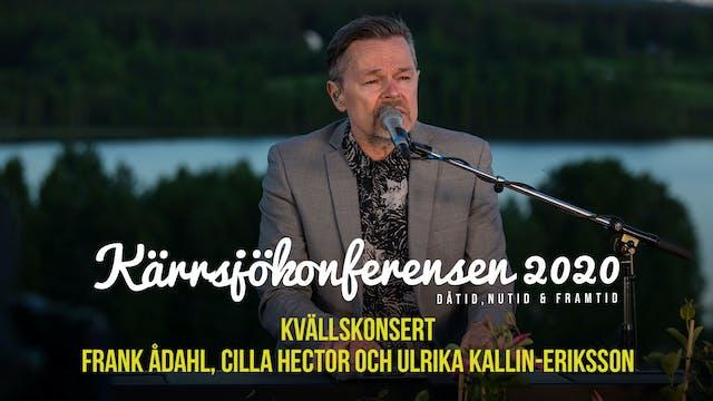 Lördag 21.00 - Konsertkväll Frank Å...