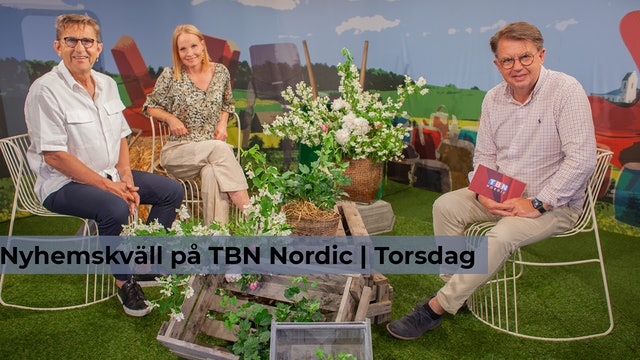 Nyhemskväll torsdag på TBN Nordic