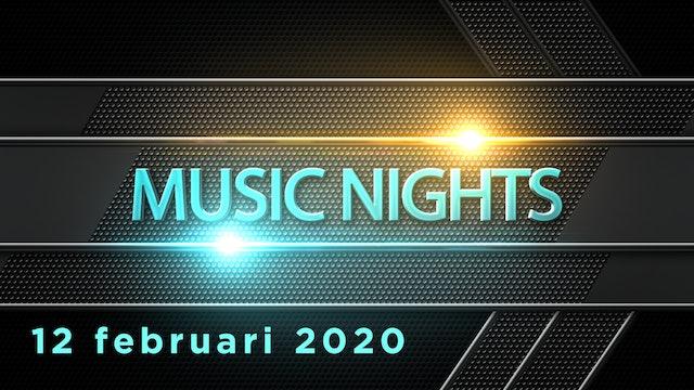 Music Nigths 12 februari 2020