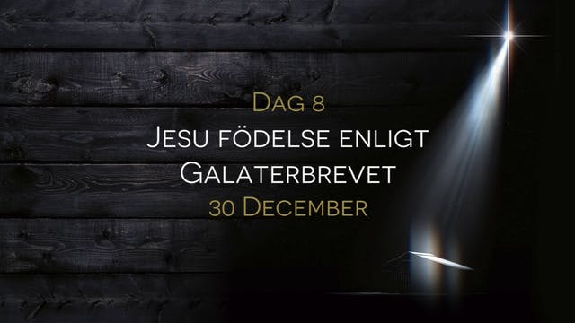 30 december | 15 dagar med julens bud...