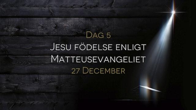 27 december | 15 dagar med julens budskap