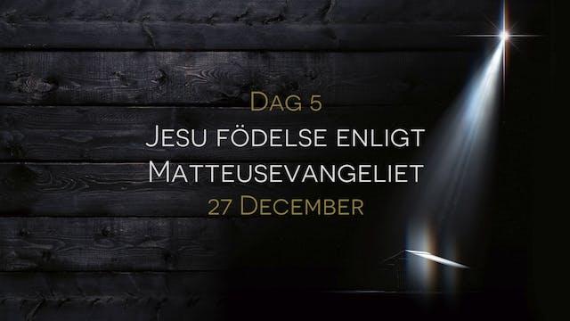 27 december | 15 dagar med julens bud...