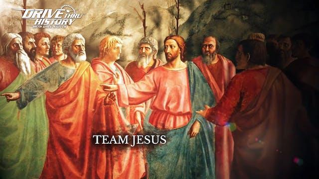 Jesus färdas över Galileiska sjön  | ...