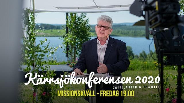 Fredag 19.00 - Missionskväll | Kärrsjökonferensen