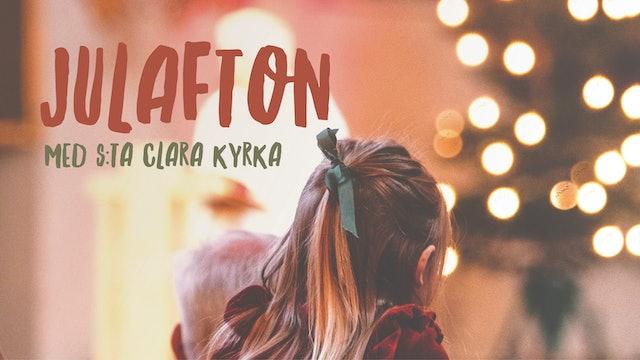 Julafton med S:ta Clara kyrka 24 dec 2020