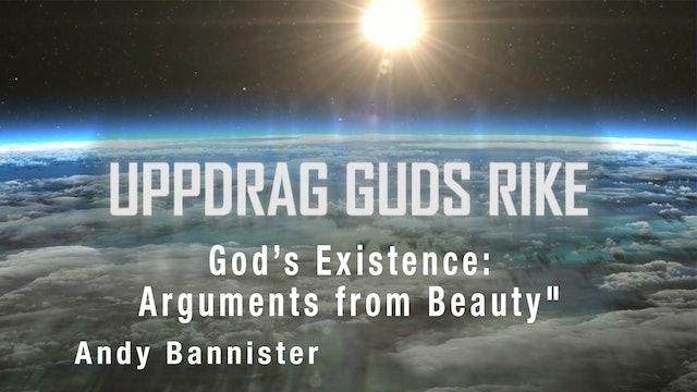"God's Existence: Arguments from Beauty"" | Uppdrag Guds Rike"