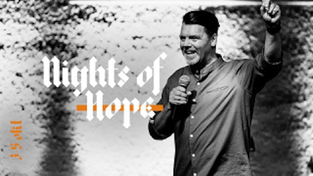 MIKAEL ALFVÉN  NIGTHS OF HOPE | LIVETS ORD