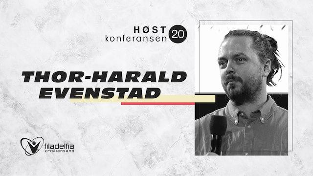 Thor Harald Evenstad - Høstkonferansen - Søn 1100